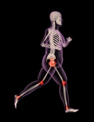 aufprallkräfte beim laufen