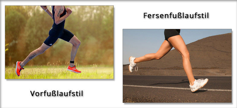 Der zum Laufstil passende Laufschuh